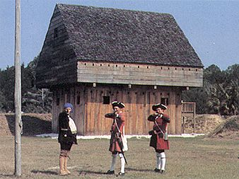 Fort King George.