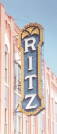 Ritz Theatre Sign