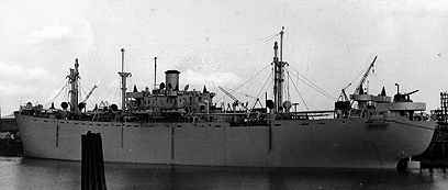 Liberty Ship at Port